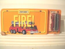 Matchbox 2000 FIRE! Ladder Fire Truck with Pleasant Company Book New in Package