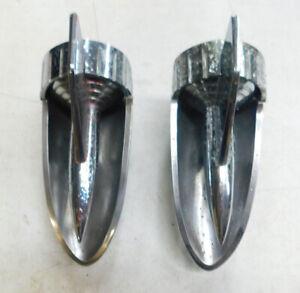 1957 chevy belair 210 150 wagon  hood rockets assemblies right and left item #3