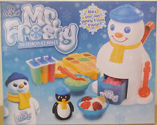 Mr Frosty ~ Crunchy Ice Maker Set ~ Makes Ice Drinks, Treats, Lollies, Shapes