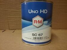RM UNO HD SC67  Iron Yellow  1 litre   BASF 2K   Solid Colour Mixing Tinter