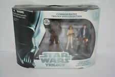 Star Wars Trilogy  Han Solo Princess Leia and Chewbacca Commemorative Set