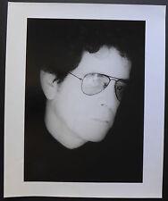 Photo Antoine Giacomoni - Lou Reed - Mirror Session - 50 x 60 - Paris 1990 -