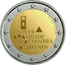 Portugal  2020  2 euro comm. Univ. van Coimbra   UNC uit de rol - du rouleaux !