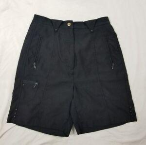 Jamie Sadock Black High Waisted Casual Shorts Size 6