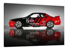 Taisan Nissan Skyline R32 GTR 30x20 Inch Canvas - Framed Picture Print Art