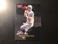 Peyton Manning Fleer Brilliant Rookie 1998 Football Card