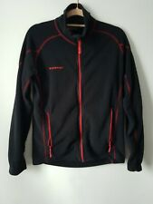 Mammut Technopile Black Zip Up Fleece Jacket Size Medium Outdoor Camping Hiking