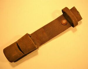 British Army Rare Webbing Pattern 1919 Bayonet Frog Excellent