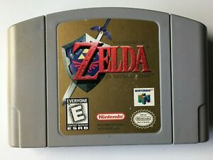 The Legend of Zelda Ocarina of Time (NTSC USA Version) N64 Nintendo 64