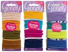 GOODY 30pc Ouchless NO METAL Various Colors ELASTIC HAIR TIES New! *YOU CHOOSE*