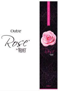 """Outre Rose Velvet Yaki  100% Virgin Remi Human Hair 10"""" Color 1B, 1 Package"""