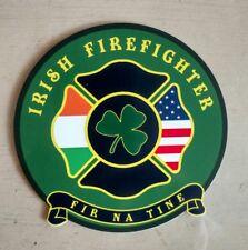 """Irish Firefighter Fir Na Tin Decal 4"""""""