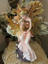 Fairyland Legends Mother Fairy with child Fairy Figurine New Pacific Giftware