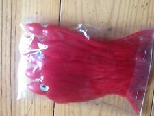 Sea fishing 18cm soft jelly muppets perfect size for deep water wrecking