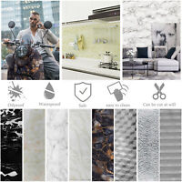 Self Adhesive Wall Sticker Kitchen Cabinet Oil/Water Proof Wallpaper Home Decor