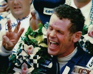 GFA Indianapolis Indy 500 x3 Champion BOBBY UNSER Signed 8x10 Photo B1 COA