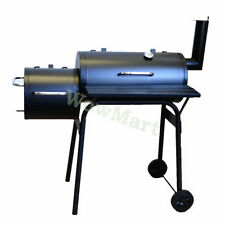 New Charcoal Texas Style Medium Size  BBQ Offset Smoker Stove (#2038)