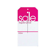 1000 Large SALE Regular Price Now Department Store Tags Heavy Duty Paper Stock