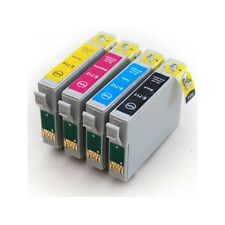 T0715 Multipack 4 Ink Cartridge Set for EPSON DX4050 Cheetah TO715 NON OEM
