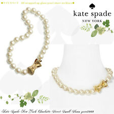 Kate Spade All Wrapped Up Pearl Necklace NWT  Classic!