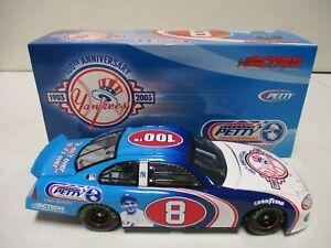Action 2003 Richard Petty Yogi Berra NY Yankees 100th Anniversary 1/24