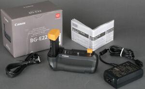 New in Box Canon BG-E22 Battery Grip f/EOS R  with AC USB Power Setup + Warranty