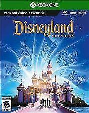 Disneyland Adventures (Microsoft Xbox One, 2017) NEW SEALED 4K ULTRA HD HDR XB1