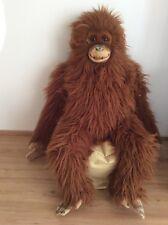 Tiere Steiff Hango Orang-Utan 043338 1995-1999 KFS 15cm Top-Zustand