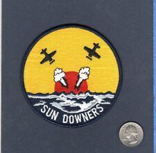 VF-111 SUNDOWNERS US NAVY F-14 Tomcat F-4 Phantom F-8 Crusader Squadron  Patch