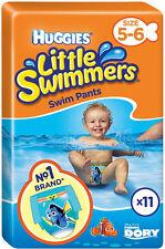 HUGGIES piccoli nuotatori Nuoto Pantaloni Taglia 5-6 media 12-18kg (11)