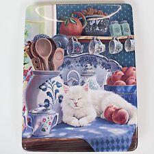 Bradford Exchange Home Sweet Home Plate SUNNY RETREAT Cat Kitten