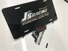 J's Racing License Plate, S2000, CRX, CIVIC, INTEGRA, HONDA