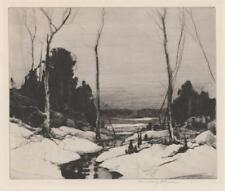 Chauncey F. Ryder Etching Lot 111