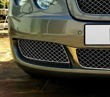 Chrome Mesh Front Bumper Lower Grille Right For Bentley Continental Flying Spur