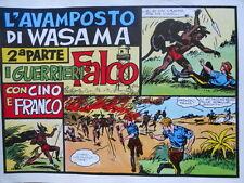 Collana Albi CINO e FRANCO n°11 1940 FALCO - Ristampa Anastatica [G258]
