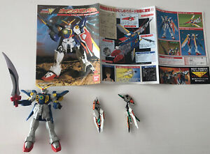 Bandai Mobile Suit Gundam Wing action figure toy lot GUNS Model Kit instructions