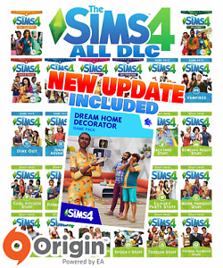 The Sims 4 ALL Expansion Packs DLC includes Latest Updates [PC/MAC] Origin