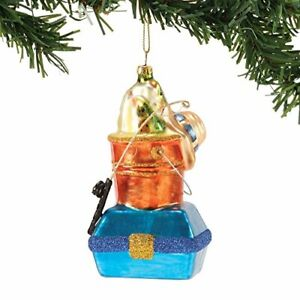 Department 56 Gone to the Beach Coast Tackle Box on Pail Hanging Ornament