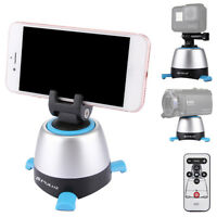 bluetooth 360 Degree Remote Control Electronic Rotation Panoramic Tripod