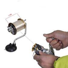 Fishing Line Winder Aluminum Reel Spool Spooler System Tackle Portable Tool