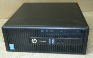 HP ProDesk 400 G2.5 Core i5 4590s 3GHz 4GB RAM 500Gb HDD Win 10 PC WiFi