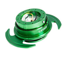NRG QUICK RELEASE GEN 3.0 GENERATION 3 GREEN BODY WITH GREEN RING
