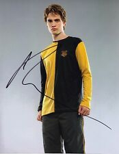Robert Pattinson Signed 10X8 Photo Harry Potter Cedric Diggory AFTAL COA (7286)