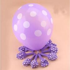 15 Polka Dot Spot Spotty Style Party Supplies Printed Latex Birthday  Balloons