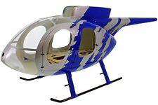 MD 500 E Jive-bleu coque GFK pour 700 600 Heli,par exemple T-Rex Lame,fuselage