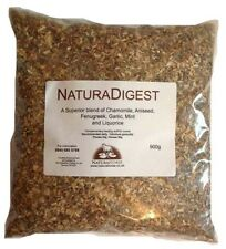 NaturaDigest 900g herbal blend of six digest herbs for horses