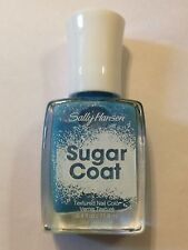LIMITED EDITION SALLY HANSEN NAIL POLISH SUGAR COAT TEXTURED BLUE ROYAL ICING