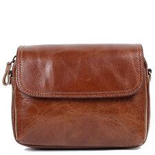 Genuine Leather Man Messenger Shoulder Bag Men Bag Small Business Bag Ble1146