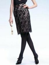 Banana Republic BLACK Lace PEACH Line Skirt Sz 0 *NWOT* Holiday Collection