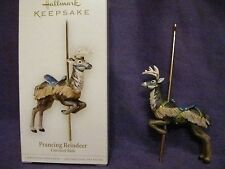 Hallmark 2006 Prancing Reindeer-Carousel Ride Christmas Ornament Series NIB